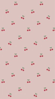 Download premium image of Red hand drawn cherry pattern on pink mobile phone wallpaper illustration by marinemynt about iphone wallpaper, cute pattern cherry, aesthetic, background pink, and backgrounds 2035428