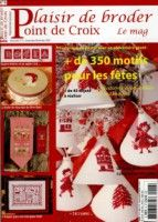 "Gallery.ru / tymannost - Альбом ""Plaisir de broder 6"" Cross Stitch Magazines, Cross Stitch Books, Magazine Cross, Book Crafts, Craft Books, 2 Colours, Christmas Stockings, Crafty, Embroidery"