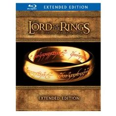 The Lord of the Rings: The Motion Picture Trilogy (Extended Edition + Digital Copy) #BluRay $83.99