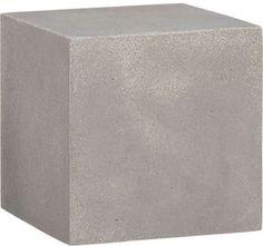 Stone Resin Cube Shelf on shopstyle.com