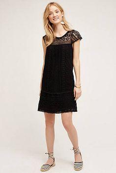 Crochet Tunic Dress - Anthro
