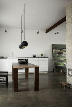 Humlebaek-House-by-Norm-Architects-Remodelista Love the table, built by owner