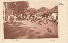 Tempo Doeloe #52 - Yogyakarta, Market Street, 1920 | Flickr - Photo Sharing!