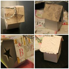 Outi's life Lights, small diy project Container, Diy Projects, Gift Wrapping, Lights, Life, Gift Wrapping Paper, Wrapping Gifts, Handyman Projects, Lighting