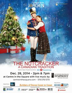 Stuff to do with your kids in Kitchener Waterloo: The Nutcracker Performed By Canada's Ballet Jorgen Returns To Kitchener - Enter To Win Tickets Win Tickets, Stuff To Do, Fun Stuff, Hamilton, Canada, Ballet, Traditional, December, Giveaways