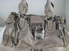 Chloe Paddington Padlock Hand BAG | eBay