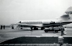 UTA Sud Aviation Caravelle 10B1R F-BNRA c/n 201 Essendon Airport, 3rd December 1966. My photographs of this very rare visitor to Essendon!