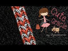 CUTE GRACIE Hook Only bracelet tutorial - YouTube