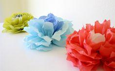 Creative ideas for you: DIY Wall Flowers