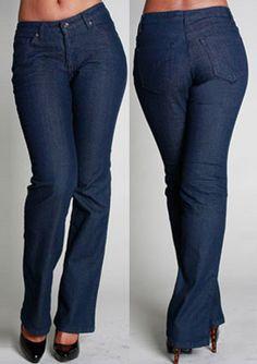 PZI Jeans - CURVE BOOT LEG JEAN