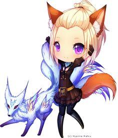 C: FoxsGurl by Hyanna-Natsu on DeviantArt