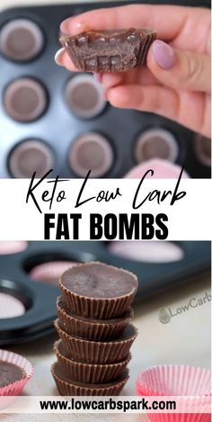Low Carb Desserts, Healthy Desserts, Low Carb Recipes, Free Recipes, Healthy Food, Healthy Eating, Keto Chocolate Fat Bomb, Curb Appetite, Protein Ball