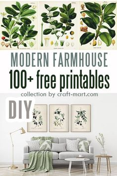 , Free Farmhouse Printables Fixer-Upper Style , Are you inspired by farmhouse DIY decor and would like to add some down-to-earth rustic wall art to your home? You are not alone as the trend of decor. Farmhouse Wall Art, Rustic Wall Art, Modern Farmhouse Decor, Rustic Walls, Farmhouse Lighting, Vintage Farmhouse, Farmhouse Ideas, Decorating Your Home, Diy Home Decor
