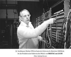 Karlheinz Stockhausen; 22 August 1928 – 5 December 2007) was a German composer, widely acknowledged by critics as one of the most important (Barrett 1988, 45; Harvey 1975b, 705; Hopkins 1972, 33; Klein 1968, 117) but also controversial (Power 1990, 30) composers of the 20th and early 21st centuries.