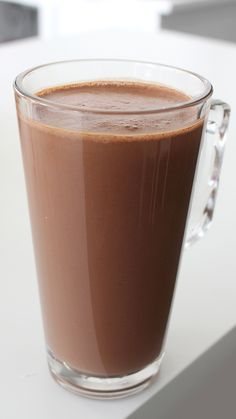 This hot chocolate is so smooth and creamy – you'll never go back to regular hot chocolate! This hot chocolate is so smooth and creamy – you'll never go back to regular hot chocolate! Chocolate Sweets, Hot Chocolate Recipes, Italian Hot Chocolate Recipe, Baking Chocolate, Cocoa Recipes, Coffee Recipes, Just Desserts, Delicious Desserts, Dessert Recipes
