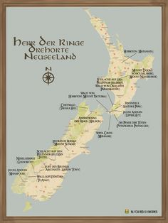 Info graphic: Lord of the Rings filming locations NZ- Info-Grafik: Herr der Ringe Drehorte NZ Lord of the Rings locations - Travel Destinations, Travel Tips, Work Travel, Rings Film, Famous Beaches, New Zealand Travel, Beaches In The World, Lord Of The Rings, Lord Rings