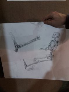 Еще скелетики и пятка. #art #darkair