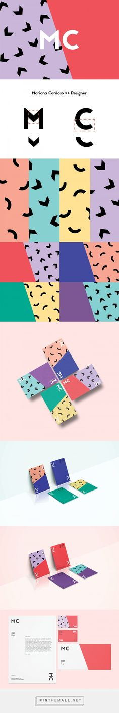 Personal Identity - Mariana Cardoso on Behance | Fivestar Branding – Design and Branding Agency & Inspiration Gallery