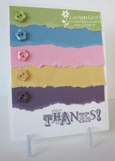 Love it! Such a cute easy idea, thanks LeeAnn, going to CASE for one of my make 'n takes!  Vintage Verses buttons thanks