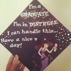 Hercules Meg graduation cap