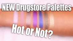 NEW DRUGSTORE MAKEUP PALETTES | Hot or Not