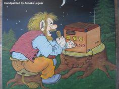 """ Sambandscentralen i Gnosjö "", handpainted by Anneke Legeer, the Netherlands, naar voorbeeld van Rolf Lidberg. Kobold, Gnomes, Netherlands, Scandinavian, Folk, Dads, Hand Painted, Inspired, Adult Coloring"