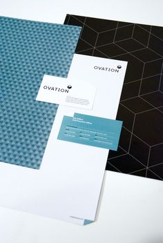 Ovation Events Identity by Andy Scarth, via Behance