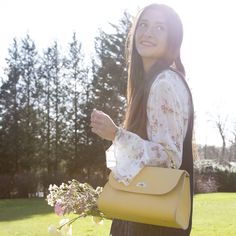 Daisy Bag in Indian Yellow