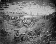 5 December 1916, British camp on the bank of the River Ancre at St. Pierre division