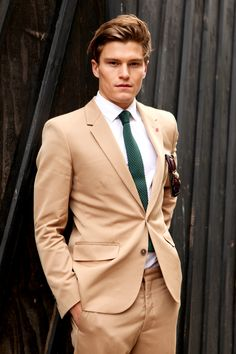 Street Style: Tan Suit at London Mens Collections — We The People