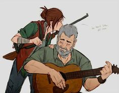 """the last of us - after by Ununununium @ deviantART """"older ellie and older joel because i need these assholes to be happy dammit"""" Tyrant Resident Evil, Game Character, Character Design, The Last Of Us, Edge Of The Universe, Arte Robot, Fan Art, Life Is Strange, Video Game Art"""