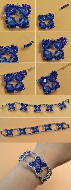 special seed beads bracelet, wanna it? LC.Pandahall.com will publish the tutorial soon. #pandahallhttp://lc.pandahall.com/articles/sub-category-8-bracelets-p1.html?from=phcom