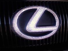 love the blinged car emblem