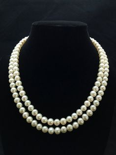 Freshwater Pearl Necklace, AAA Grade, Double Strand Pearl Necklace