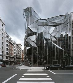 Intriguing building,fractal-ly bubbling out of the space around it. Home of the Basque Health Department! By Coll-Barreu Arquitectos. #imageoftheday #architecture