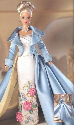 Barbie * krásný večerní komplet ***                                                                                                                                                                                 Plus