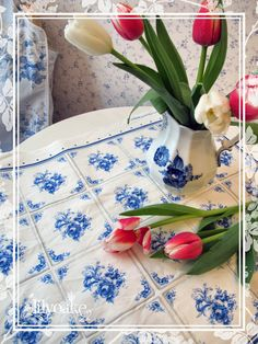 tea towels and home furnishing fabrics by LilyOake, on Spoonflower.