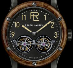 Ralph Lauren RL Automotive Tourbillon & Double Tourbillon Watches Watch Releases