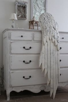 Nordic ANGEL WING... wood Salvage, Galvanized Tins, Cottage. $210.00, via Etsy.
