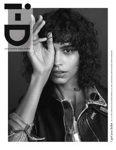 i-D The Family Values Issue No. 347 Mica Arganaraz in anthony vaccarello for saint laurent | Photography Mario Sorrenti Fashion Director Alastair McKimm | i-D