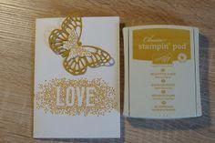 Brigittes Stempelstelle: Welche In Color gefallen Euch am Besten? #Stampin #Up #Ocker #Schmetterling #Butterfly