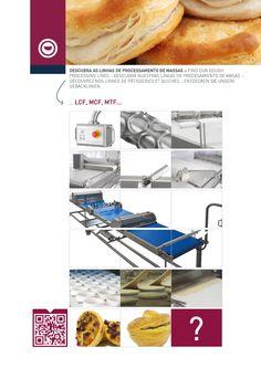 Linha de processamento de massas / Dough processing line / Linea de procesamiento de masa / Ligne de Pâtisseries et Quiches