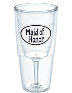 Nothing says friendship like the Maid of Honor Goblet from Tervis®