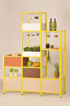 fridayproject-foodstorage2 -- really nice storage idea by amsterdam-based italian : Luca Boscardin & Valentina Raffaelli.