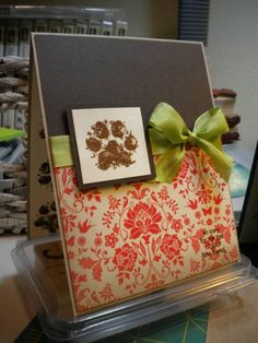 Puppy sympathy by Inprogress - Cards and Paper Crafts at Splitcoaststampers