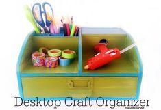 'Desktop Craft Supply Organizer...!' (via Hello Life)