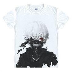 Tokyo Ghoul Anime Kaneki Ken T-shirt – Otakupicks