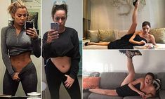 Comedian Celeste Barber recreates iconic celebrity Instagram photos | Daily Mail Online