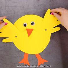 Handprint Chick Easter Craft for Kids crafts ideas crafts crafts crafts Kids Crafts, Bunny Crafts, Crafts For Kids To Make, Crafts For Girls, Toddler Crafts, Preschool Crafts, Easy Crafts, Kids Diy, Decor Crafts
