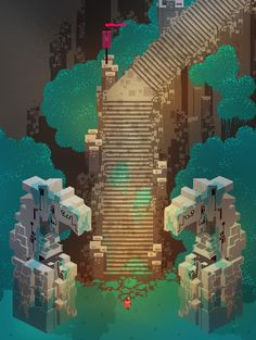 Hyper Light Drifter by Heart Machine » So many things to show you! — Kickstarter
